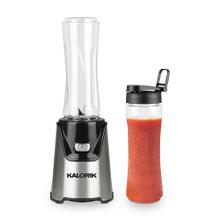 Product Image - Kalorik Personal Blender with 2 Tritan Bottles, Stainless Steel