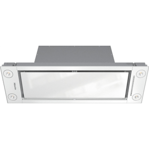 Insert ventilation hood with energy-efficient LED lighting and backlit controls for easy use. Product Image