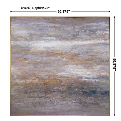 Uttermost - Retrograde Hand Painted Canvas