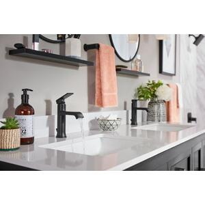 Genta matte black posi-temp® shower only