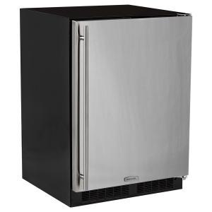 Marvel24-In Built-In All Freezer with Door Style - Stainless Steel, Door Swing - Right