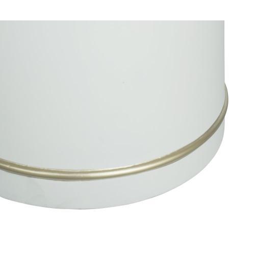 Tov Furniture - Dumbo White Concrete Dining Table