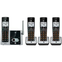 DECT 6.0 Cordless Answering System with Caller ID/Call Waiting (4-handset system)