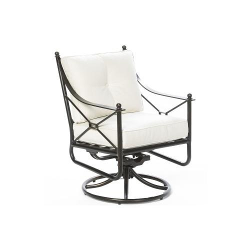 Gables Dining Swivel Arm Chair