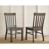Cayla Side Chair, Dark Oak