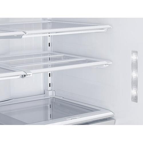 28 cu. ft. Food Showcase 3-Door French Door Refrigerator in White