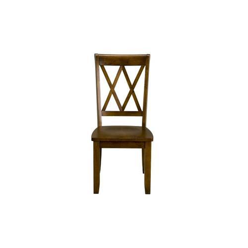 Standard Furniture - Vintage Distressed 2-Pack Brown Side Chairs