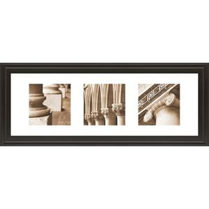 """Architectural Triptych I"" By Tony Koukos Framed Print Wall Art"