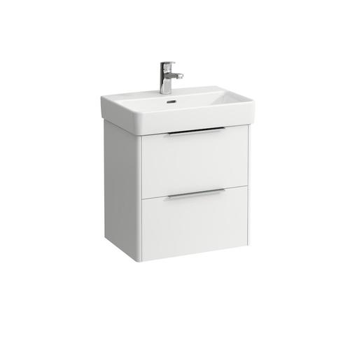 Traffic Grey Vanity unit, 2 drawers, matching washbasin 818958