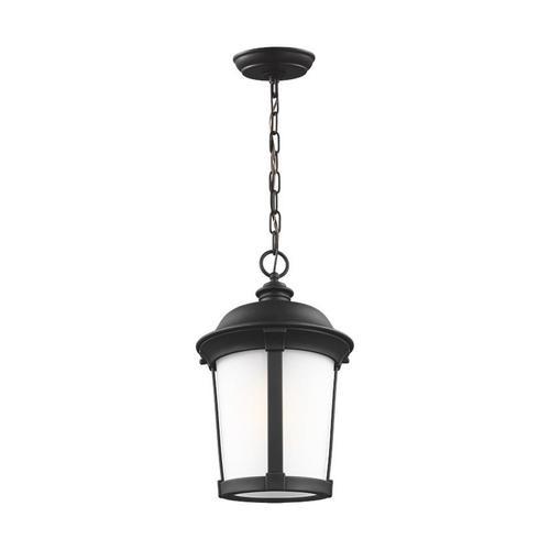 Calder One Light Outdoor Pendant Black Bulbs Inc