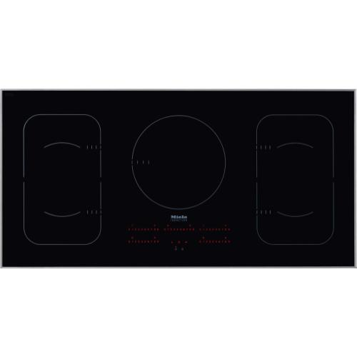 KM 6377 - Induction Cooktop in maximum width for the best possible cooking and user convenience.