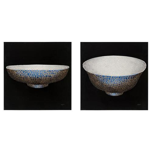 Teng Fei's Set of Two Porcelain Vessels