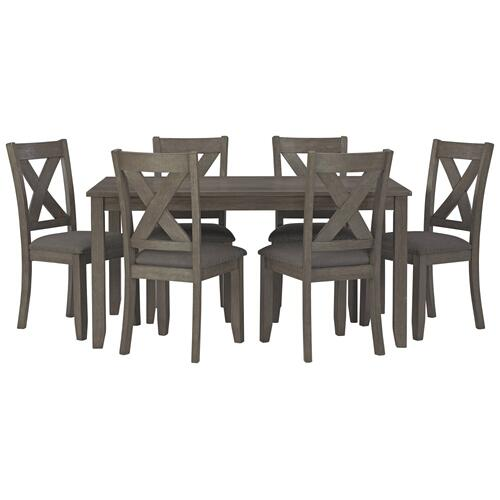 Caitbrook Dining Table and Chairs (set of 7)
