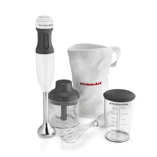 3-Speed Hand Blender - White