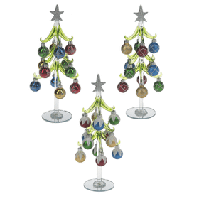 Christmas Tree with Ornaments - Lg. (6 set ppk.)