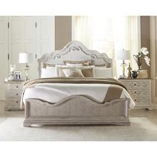 Elizabeth - King/california King Panel Headboard - Smokey White Finish