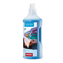 UltraColor liquid detergent 67.6 fl. oz. for color and black garments.