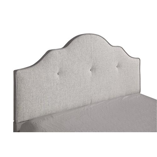 Emerald Home Anchor Bay Upholstered Bed Cream B134-10hbfbr-09