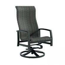 Muirlands Woven Bucket High Back Swivel Rocker