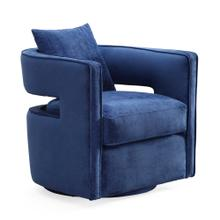 Kennedy Navy Swivel Chair