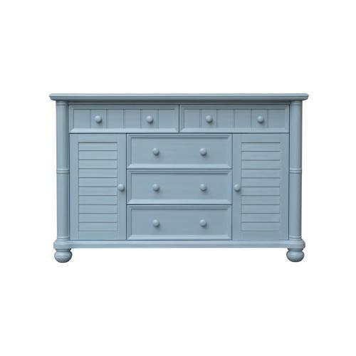 CF-1700 Bedroom  Dresser  5 Drawers  2 Cabinets