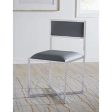 View Product - Amalfi X-Base Chair with Cognac Finish