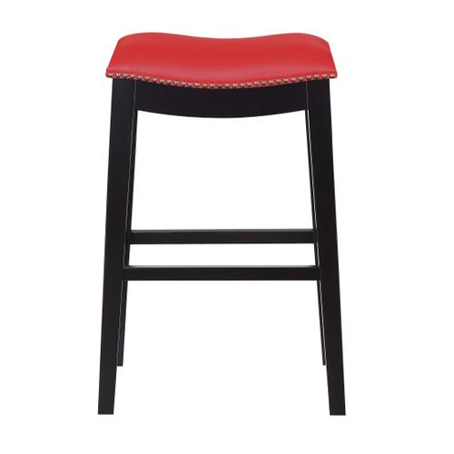 "Briar 30"" Bar Stool, Traditional Red D107-30-02"