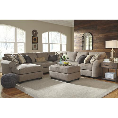5-piece Sectional With Ottoman