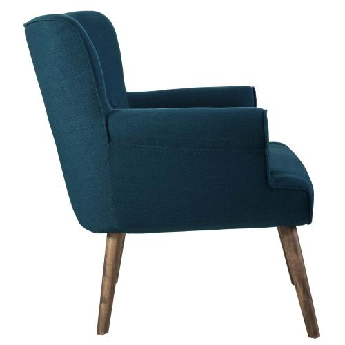Modway - Cloud Upholstered Armchair in Azure