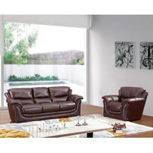 Divani Casa 558 - Classic Brown Sofa Set