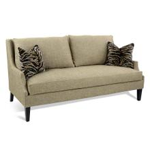 Scoop-Arm Sofa with Toss Pillows