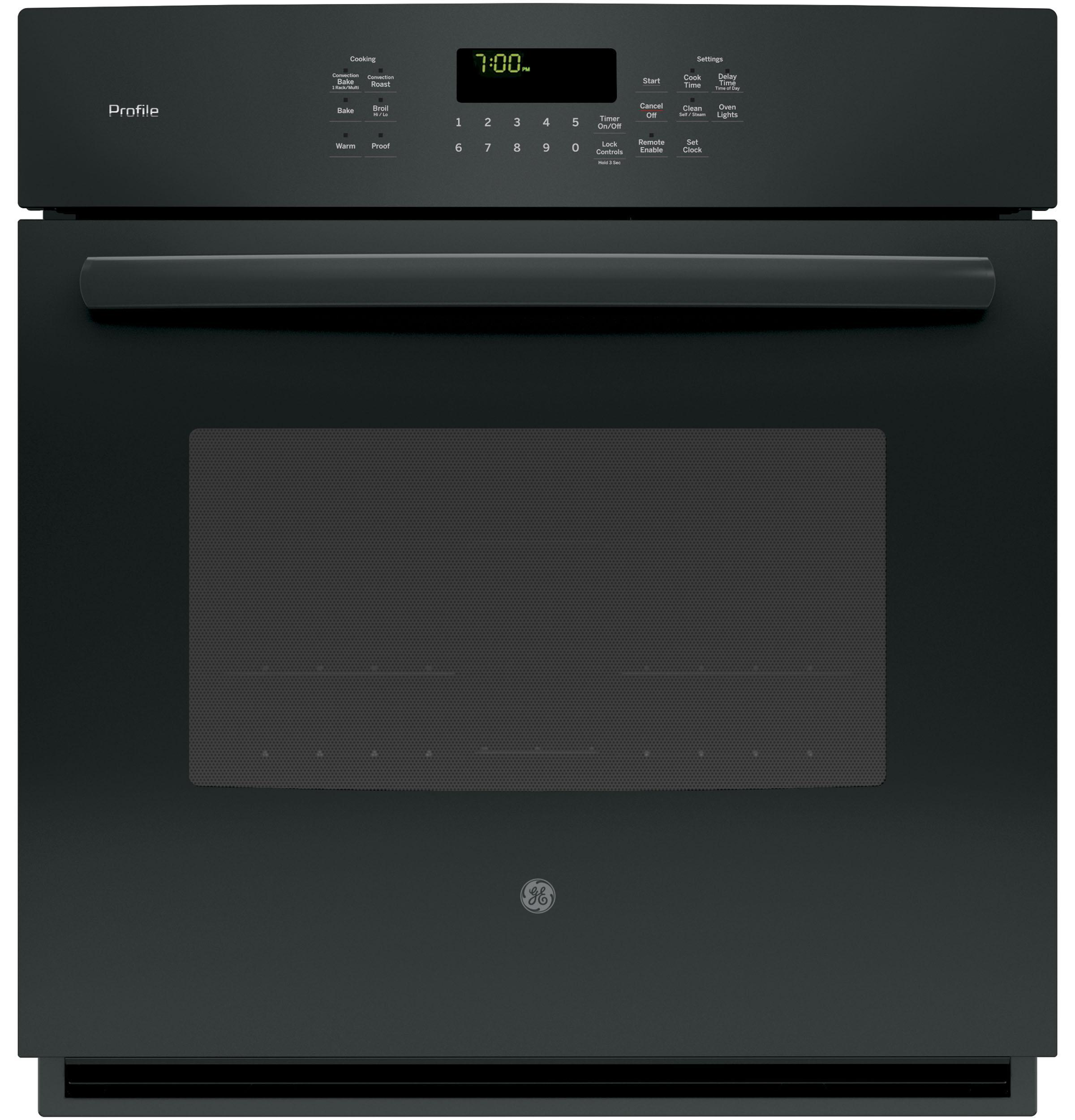 "GE ProfileSeries 27"" Built-In Single Convection Wall Oven"