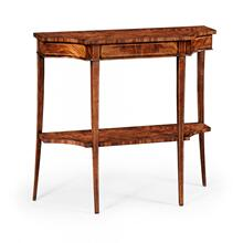 Biedermeier mahogany console