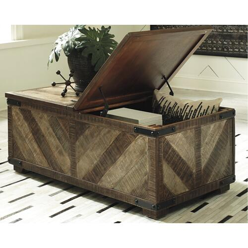 Gallery - Cordayne Coffee Table With Storage