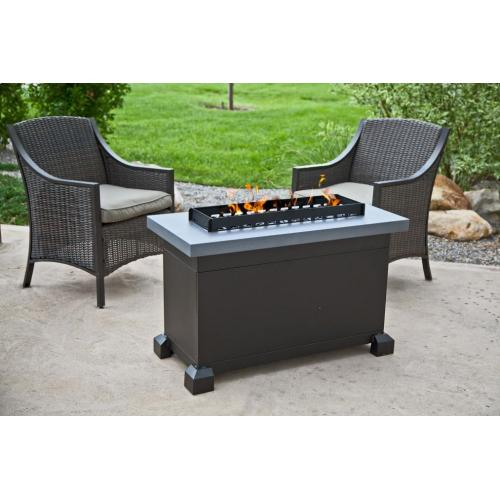 Monterey Fire Table - Gray