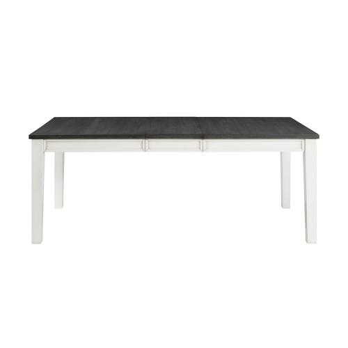 Kayla Two Tone Dining Table with Storage