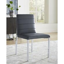 View Product - Amalfi Metal-Back Chair with Cognac Finish