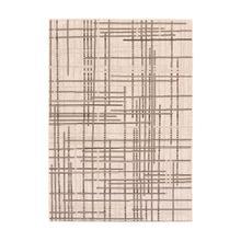 Vito - Minimalist Lines Area Rug, Beige, 5' x 8'