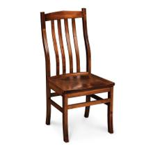 Clifton Side Chair, Wood Seat, Soft Maple