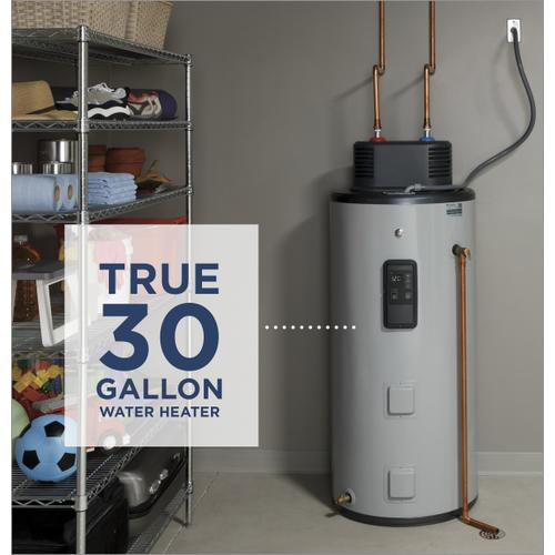 Gallery - GE® Smart 30 Gallon Electric Water Heater with Flexible Capacity