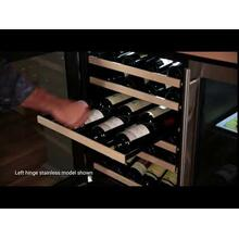 24-In Built-In High Efficiency Single Zone Wine Refrigerator with Door Style - Panel Ready, Door Swing - Right