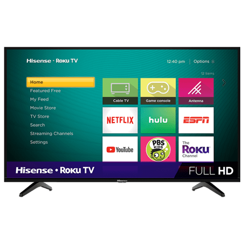 "43"" Class - H4 Series - Full HD Hisense Roku TV (2020)"