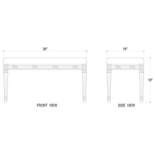 Product Image - St. James Bench