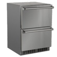 See Details - 24-In Outdoor Built-In Refrigerated Drawers with Door Style - Stainless Steel