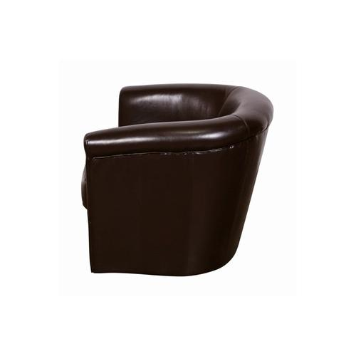 Marvel Chocolate Swivel Chair, AC210