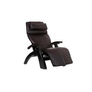 Perfect Chair ® PC-610 - Espresso Premium Leather - Matte Black