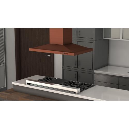 Zline Kitchen and Bath - ZLINE Designer Series Copper Island Mount Range Hood (8GL2Ci)