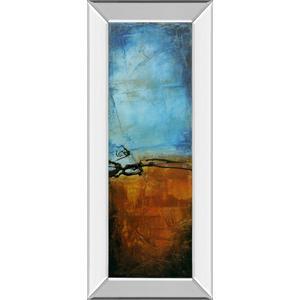 """""""West Side Affair I"""" By Erin Ashley Mirror Framed Print Wall Art"""