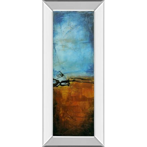 """Classy Art - """"West Side Affair I"""" By Erin Ashley Mirror Framed Print Wall Art"""