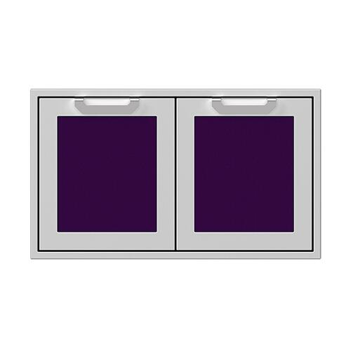 "36"" Hestan Outdoor Double Storage Doors - AGSD Series - Lush"